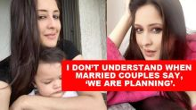 Chahatt Khanna Talks About Why She Conceived Again After 10 Months Of Her Daughter's Birth