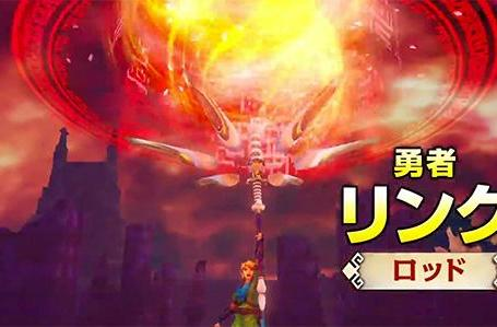 Link discovers pyromania in new Hyrule Warriors trailer