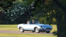 Prince Harry, Meghan Markle Go Out For a Dinner in Classic Jaguar