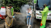 Venezuelans stream home from Colombia due to virus pandemic