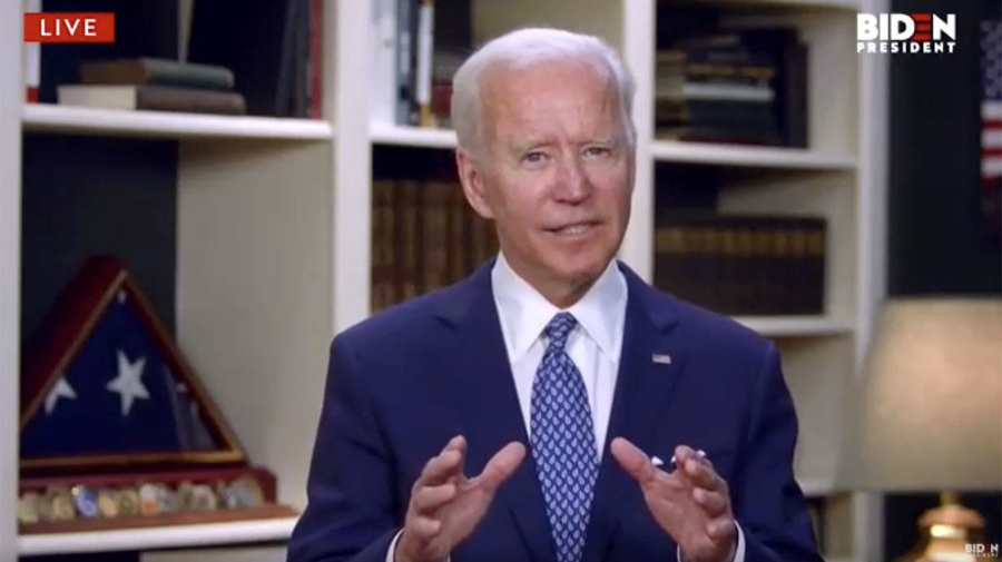 'Act of brutality': Biden decries George Floyd death