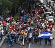 Mexico deploys hundreds of riot police as migrants near