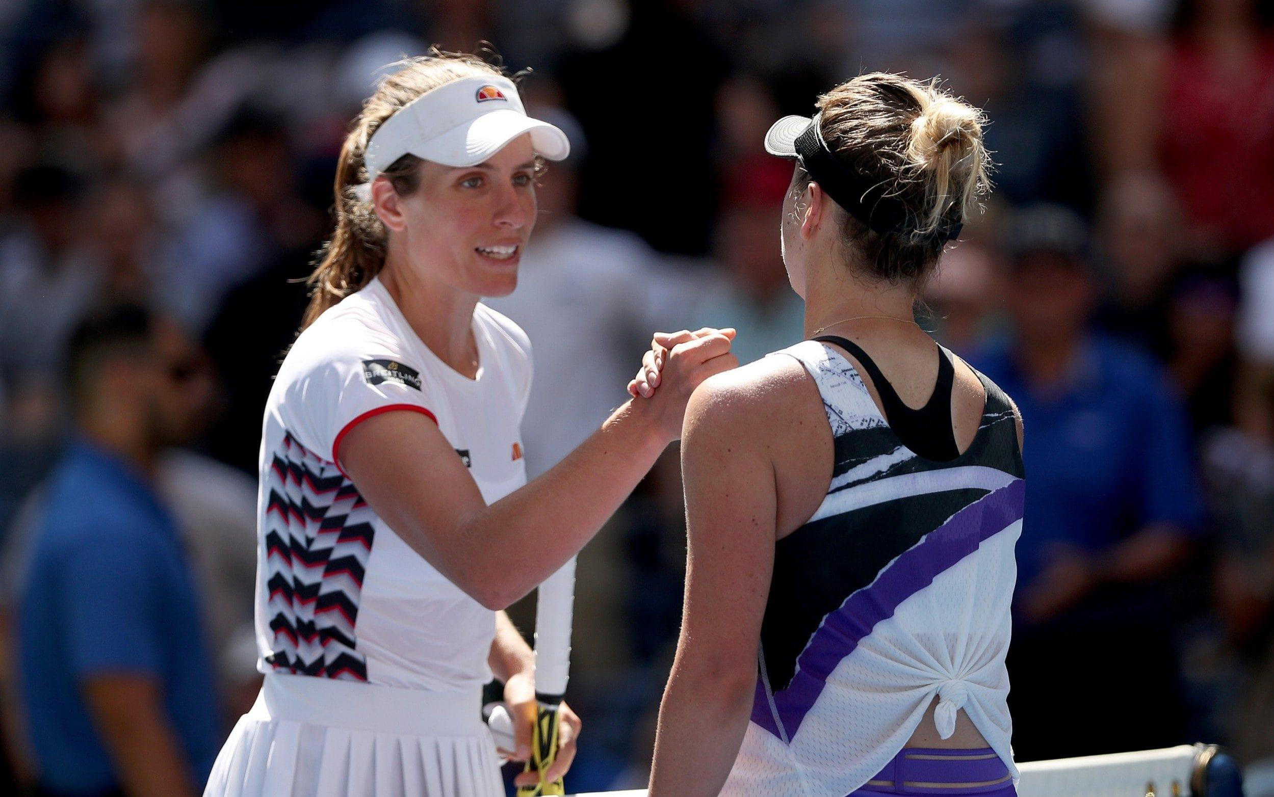 Johanna Konta out of US Open in straight sets following quarter-final defeat to Elina Svitolina