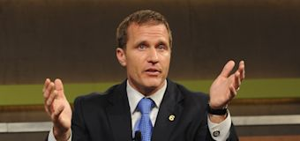 Embattled Missouri governor charged with felony