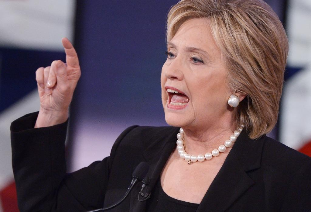 Republicans had accused Hillary Clinton of seeking to keep crucial communications out of the official archive, and sending classified information through a network susceptible to hackers (AFP Photo/Mandel Ngan)