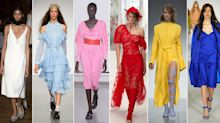 London Fashion Week's ultimate colour guide to next season
