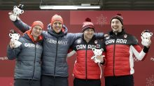 Canada, Germany tie for Olympic gold in two-man bobsleigh in PyeongChang