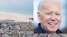 Thousands of police officers, sniffer dogs and drones are set to descend on a tiny English seaside town for President Biden's first big moment on the world stage
