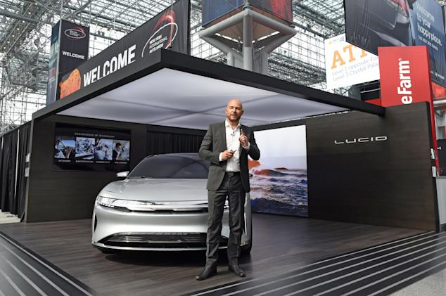 Lucid Motors' first EV will come with LIDAR driving assistance as standard