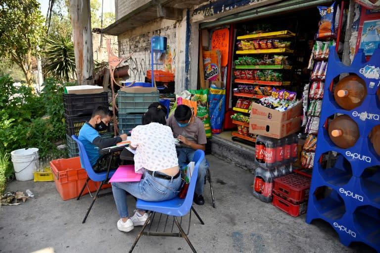 "Around 70 children have attended the ""Little Corner of Hope"" street school"