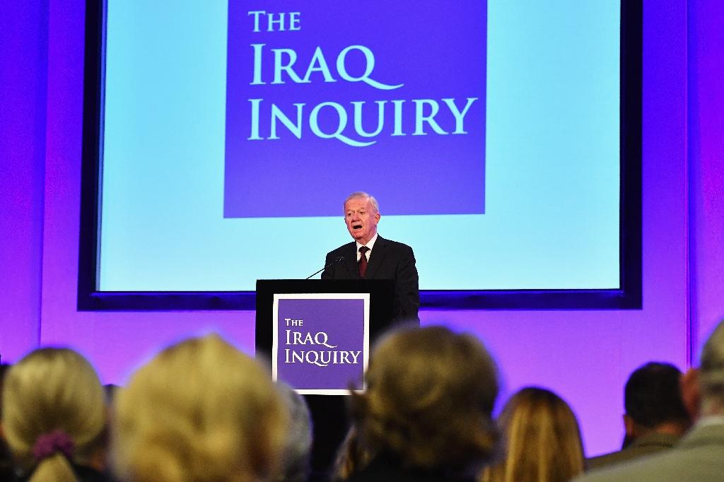 Former civil servant John Chilcot found that then Labour prime minister Tony Blair had taken Britain into a badly planned war (AFP Photo/Jeff J Mitchell)