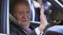"""L'ex-roi d'Espagne Juan Carlos, qui a quitté le pays, évoque une """"parenthèse"""""""
