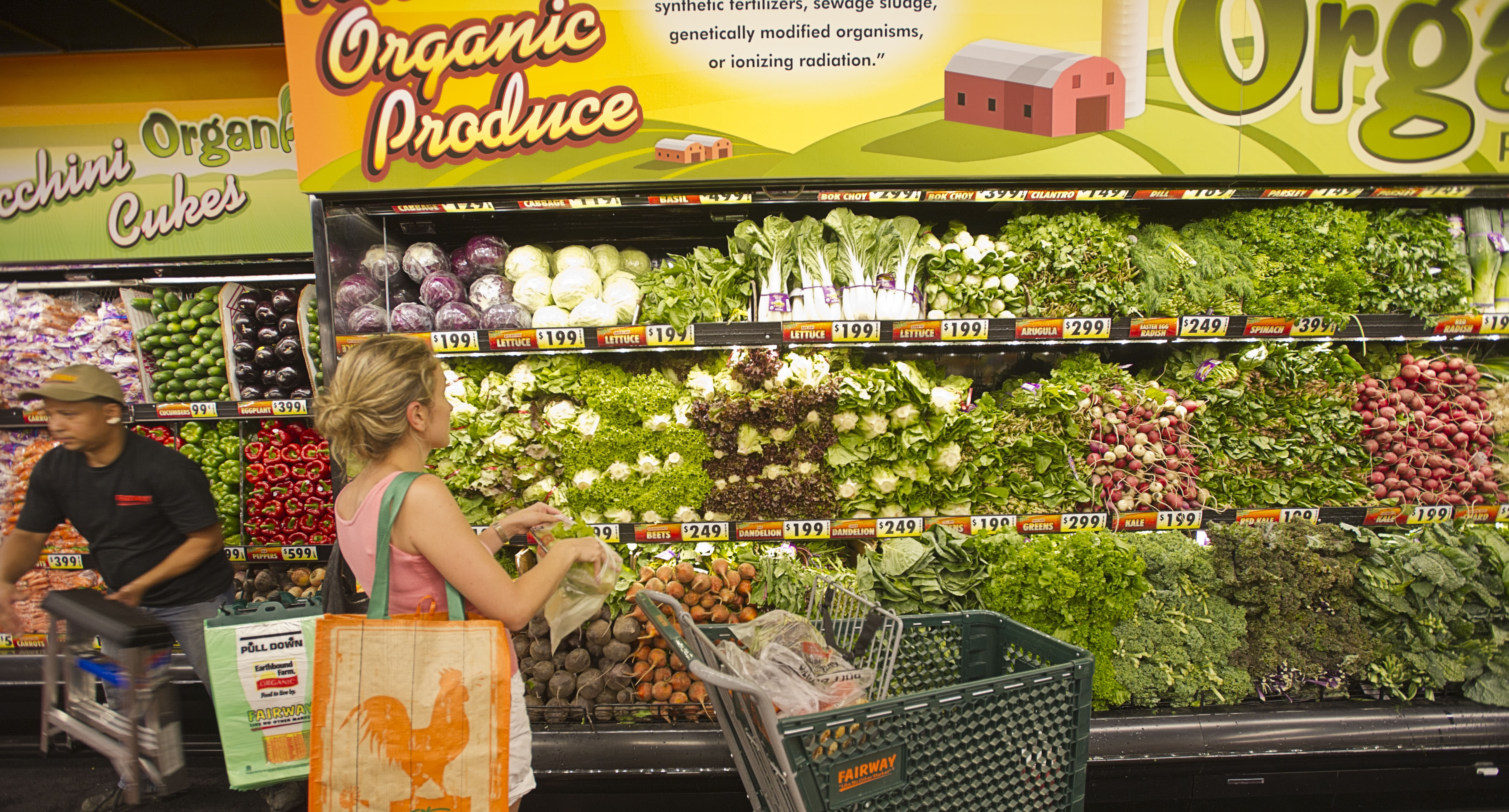 Organic food actually 'worse for the planet', study finds