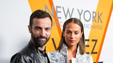 Alicia Vikander debuts wedding ring alongside Zendaya and Michelle Williams at Louis Vuitton's new NYC exhibit