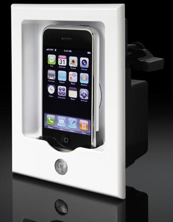 iPort's in-wall iPod system gets upgraded with iPhone support