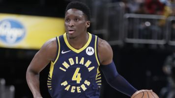 Victor Oladipo appears to be seriously hurt
