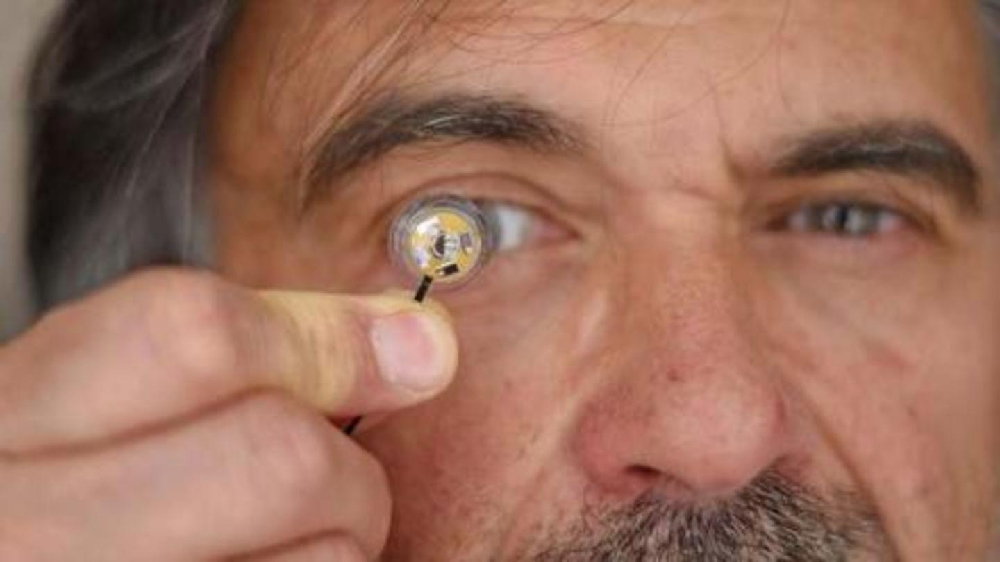 US Military soldiers could wear smart contact lenses on battlefield