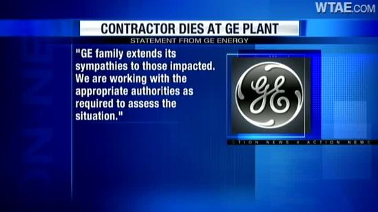1 dead at GE Energy plant in West Mifflin