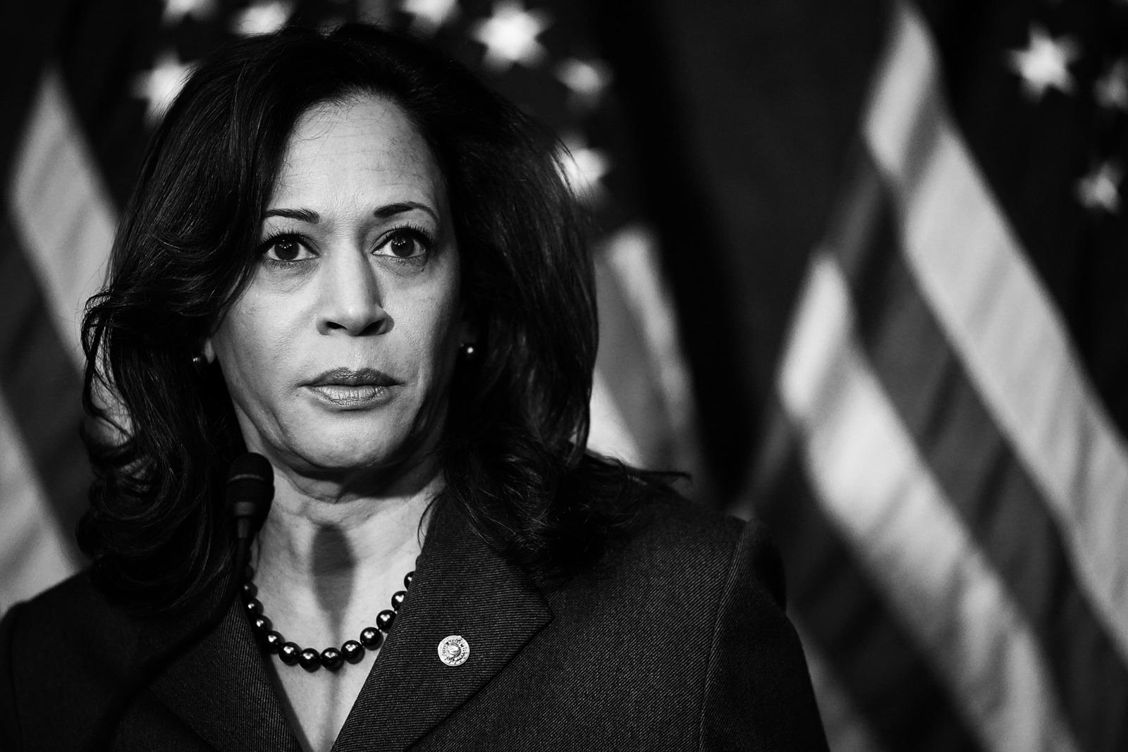 Kamala Harris Politely Dodges Presidential Run Rumors