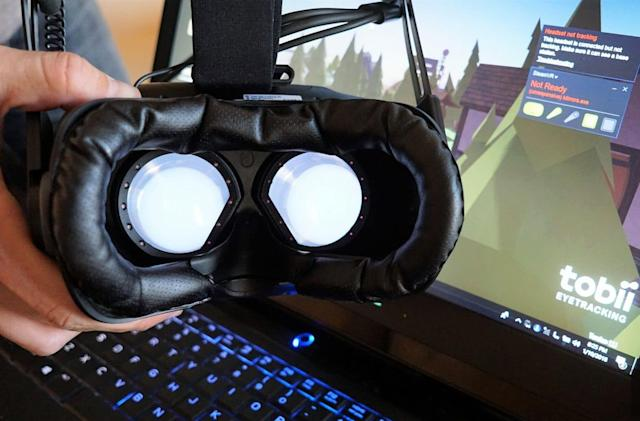 Tobii proves that eye tracking is VR's next killer feature