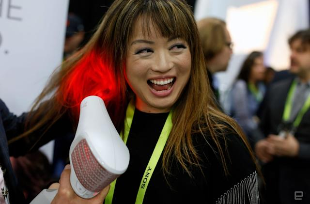 An infrared hairdryer could make hairdrying less hot