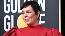 The hidden message behind Olivia Colman's Golden Globes look