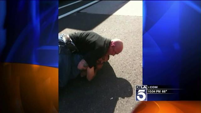 Bloody Road-Rage Fight on Freeway Caught on Video