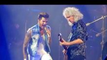 Watch Adam Lambert Perform 'Ghost Town' With Queen for the First Time