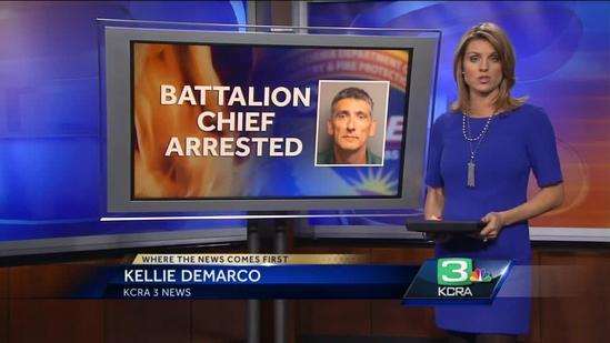 Cal Fire battalion chief arrested for suspicion of transporting drugs