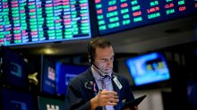 US STOCKS-Wall Street pressured by J&J, global growth concerns