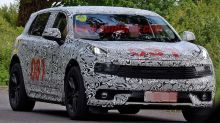 This might be a Lotus SUV test mule