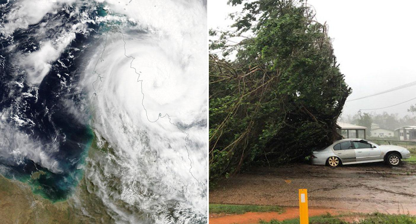 Nearly 1000 people leave Northern Territory in largest evacuation ever ahead of Cyclone Trevor