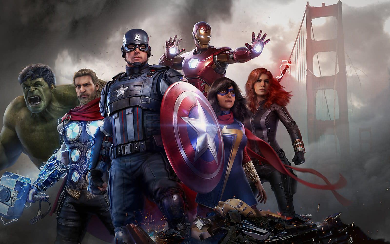 The 'Marvel's Avengers' beta will let you earn 'Fortnite' swag