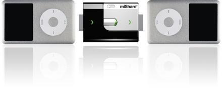 miShare enables iPod file swapping, Apple is so pleased