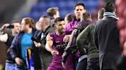 Man City player nearly gets into fight with fan
