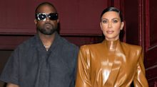 Kim Kardashian Makes Surprise Appearance at Kanye West's DONDA Listening Party with Their Kids