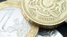 Euro falls against British pound during Monday open
