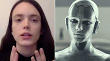 Stacy Martin: Wearing 'Archive' prosthetics was 'horrific' (exclusive)