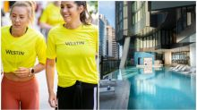 The luxe hotel that doesn't let your fitness routine slip