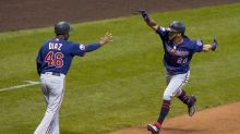 Rosario's slam helps Twins beat Brewers 4-2 to end skid