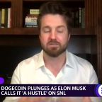 Dogecoin sinks as Elon Musk calls it 'a hustle' on SNL