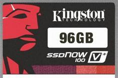 Kingston debuts 96GB SSDNow V+100 solid state drive, complete with 25 percent performance boost