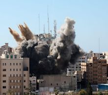 Hamas denies Israel's claim that it was operating out of a now-destroyed building where AP and Al Jazeera had offices