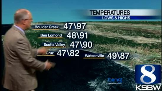 Watch Your KSBW Weather Forecast 05.02.13