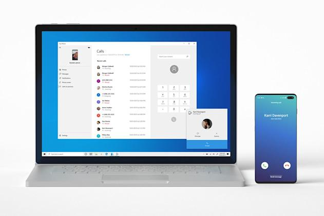Windows 10 preview brings Android phone calls to your PC
