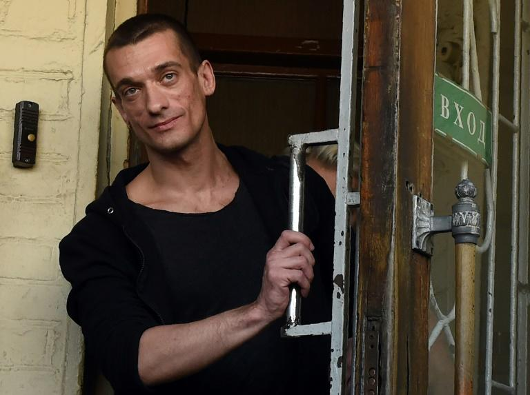 Image result for Radical Russian artist Pyotr Pavlensky charged over Paris bank blaze