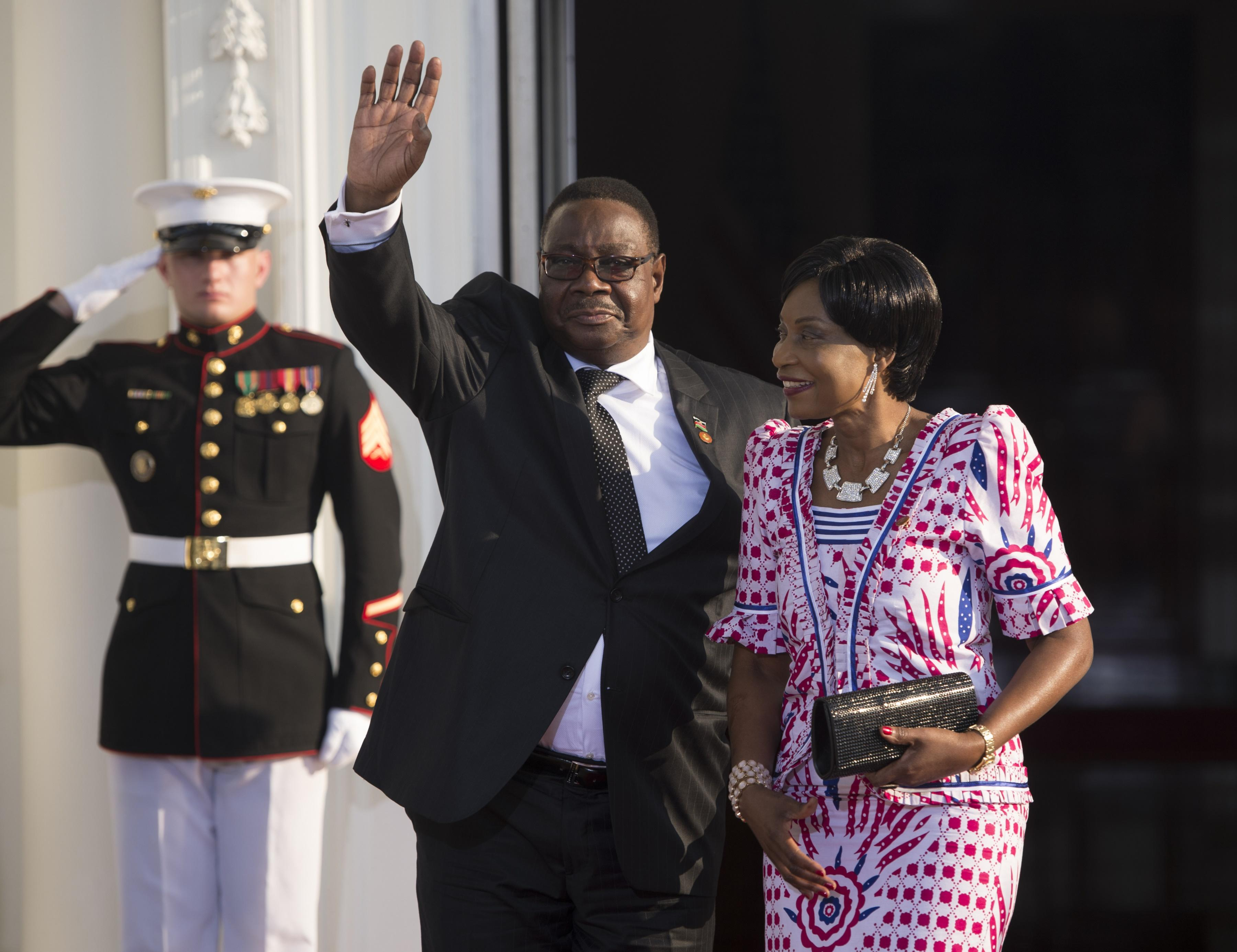 Malawi President Peter Mutharika, pictured during the US Africa Leaders Summit on August 5, 2014 in Washington, DC