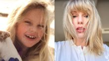'Christmas Tree Farm', el villancico de Taylor Swift con imágenes de su infancia