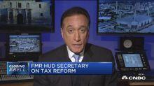 Tax bill will impact housing industry: Fmr. HUD Sec. Cisn...