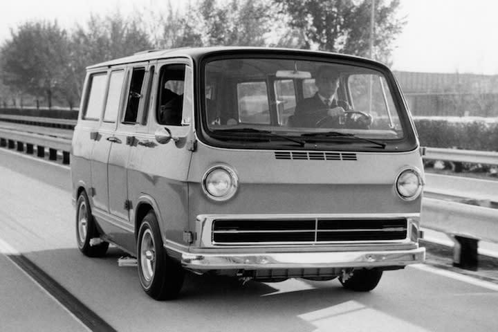 Weird Car Of The Week Gms Hydrogen Powered Handi Van